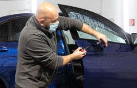 Autobeule entfernen mit Smartrepair