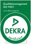 Dekra Zertifiziert nach ISO 9001:2008