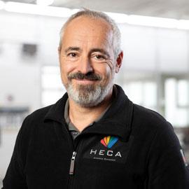 HECA Serviceberater (GASB) & Betriebsleiter Andres Sanchez